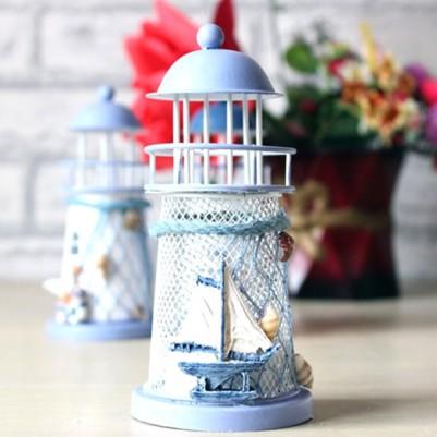 - Dekoratif Deniz Feneri Masa Lambası
