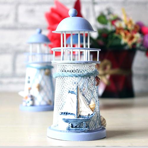 Dekoratif Deniz Feneri Masa Lambası