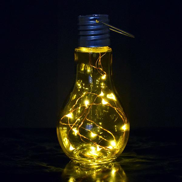 Dekoratif LED Ampul Lamba Sarı Işıklı