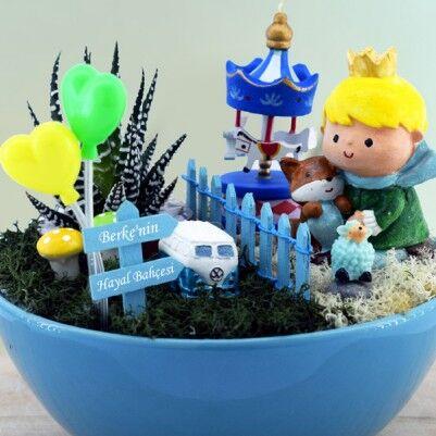 Dekoratif Minyatür Düşler Bahçesi - Thumbnail