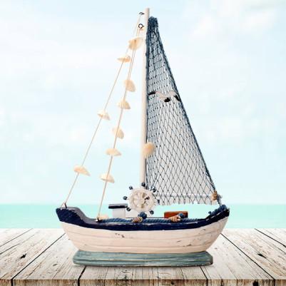 - Dekoratif Yelkenli Gemi Biblosu