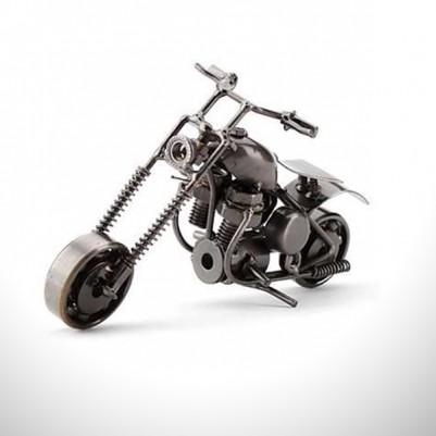 - Dekoratif Metal Motosiklet Biblo
