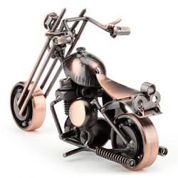 Dekoratif Metal Motosiklet Biblo - Thumbnail
