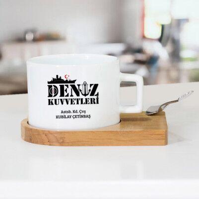 - Deniz Kuvvetleri İçin Hediyelik Çay Fincanı