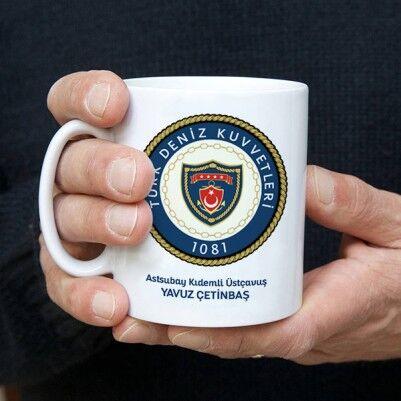 - Deniz Kuvvetleri Komutanlığı Amblemli Kupa Bardak