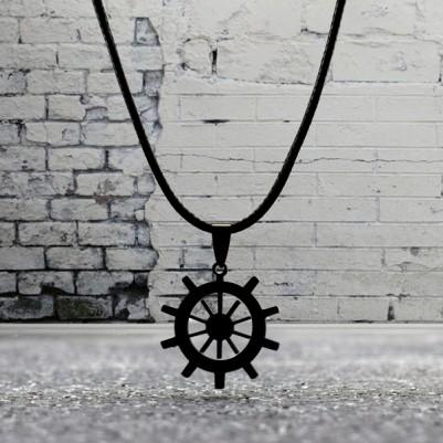 - Denizci Dümeni Şeklinde Kolye