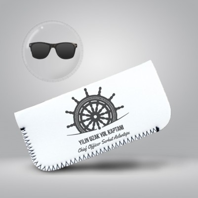 - Denizci Kaptanlara Hediye Gözlük Kılıfı