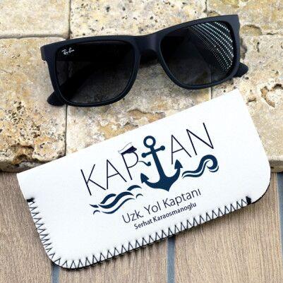 - Denizci Kaptanlara Özel Gözlük Kılıfı