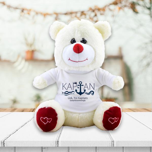 Denizci Kaptanlara Özel Peluş Ayıcık