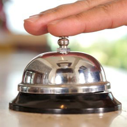Desk Bell - Otel Resepsiyon Zili