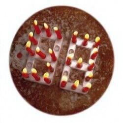 Dijital Rakamlı Doğum Günü Mumları - Thumbnail