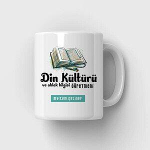 - Din Kültürü Hocasına Özel Kupa Bardak