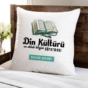 - Din Kültürü Öğretmeni Temalı Yastık