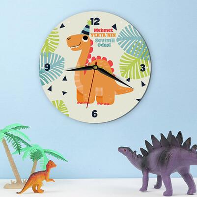 - Dinozor Arkadaşım Çocuk Duvar Saati