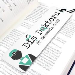 - Diş Doktorlarına Özel Kitap Okuma Ayracı