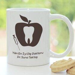 Diş Doktorlarına Özel Kupa Bardak - Thumbnail