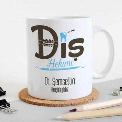 - Diş Doktoruna Hediye Kahve Kupası