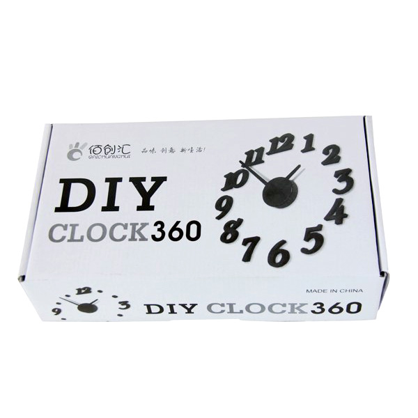 DIY CLOCK 360 - Kendin Yap Duvar Saati