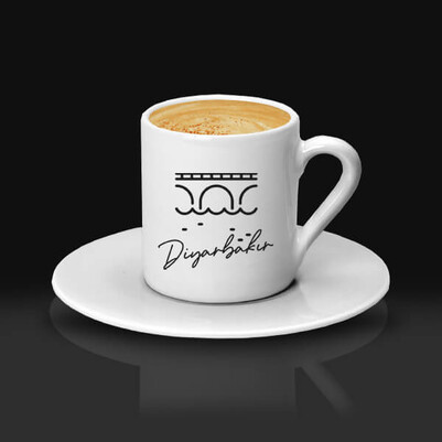 - Diyarbakır Tasarımlı Kahve fincanı