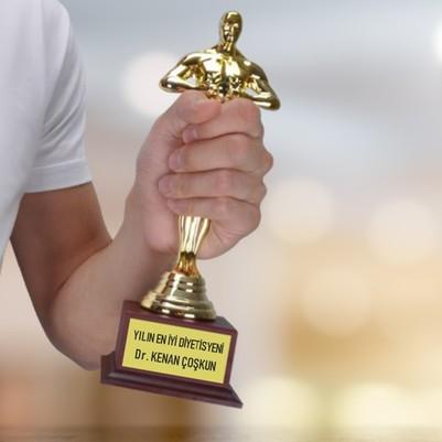- Diyetisyen Doktora Hediye Oscar Ödülü