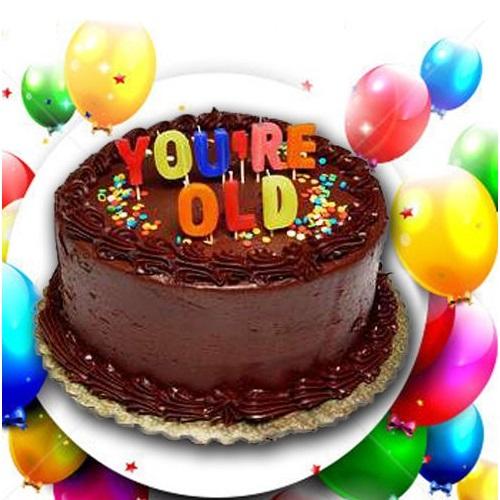 Doğum Günü Mumları - #YOU'RE OLD