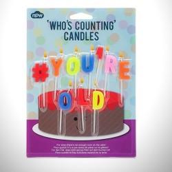 Doğum Günü Mumları - #YOU'RE OLD - Thumbnail