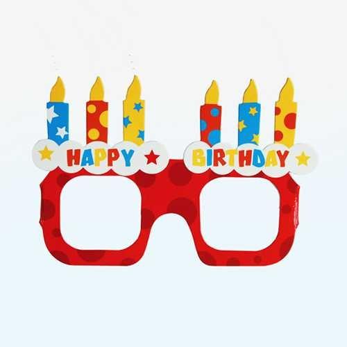 Doğum Günü Parti Gözlüğü Seti 4′lü
