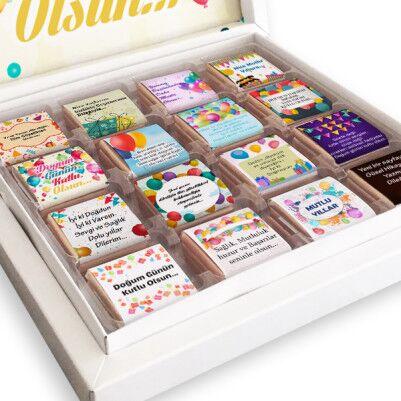 Doğum Günün Kutlu Olsun Çikolataları - Thumbnail