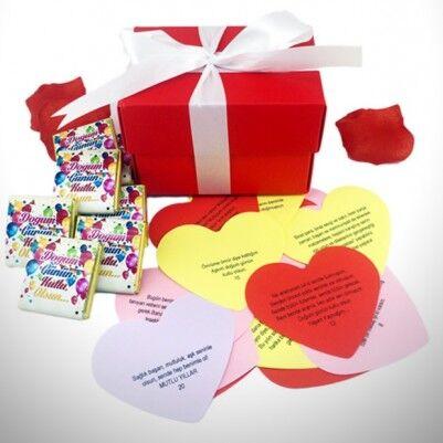 - Doğum Gününe Özel Mesajlı Çikolata 10'lu