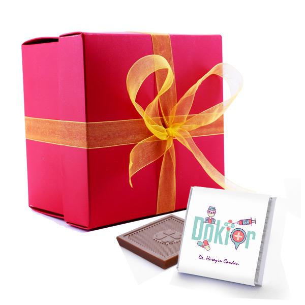 Doktor Temalı Mesleki Çikolatalar