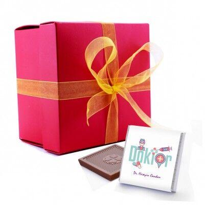 - Doktor Temalı Mesleki Çikolatalar