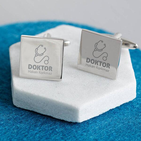 Doktora Hediye Gömlek Kol Düğmesi