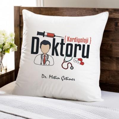 - Doktorlara Hediye Kare Yastık