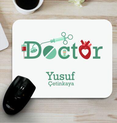 - Doktorlara İsme Özel Mousepad