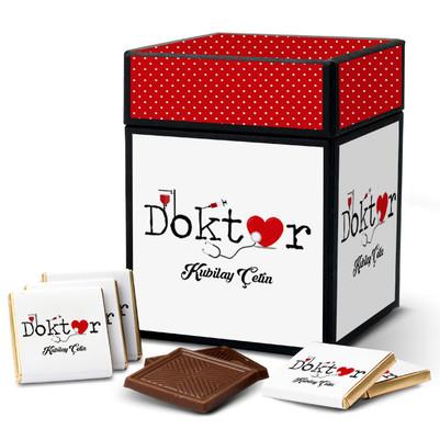 - Doktorlara Özel Çikolata Kutusu