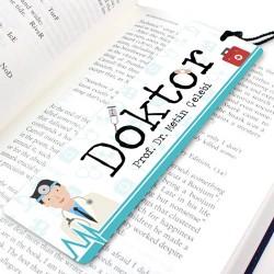 - Doktorlara Özel İsimli Kitap Ayracı