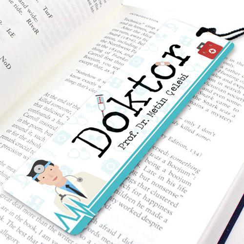 Doktorlara Özel İsimli Kitap Ayracı