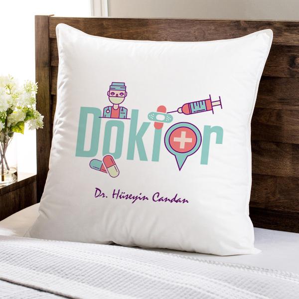 Doktorlara Özel Kare Yastık