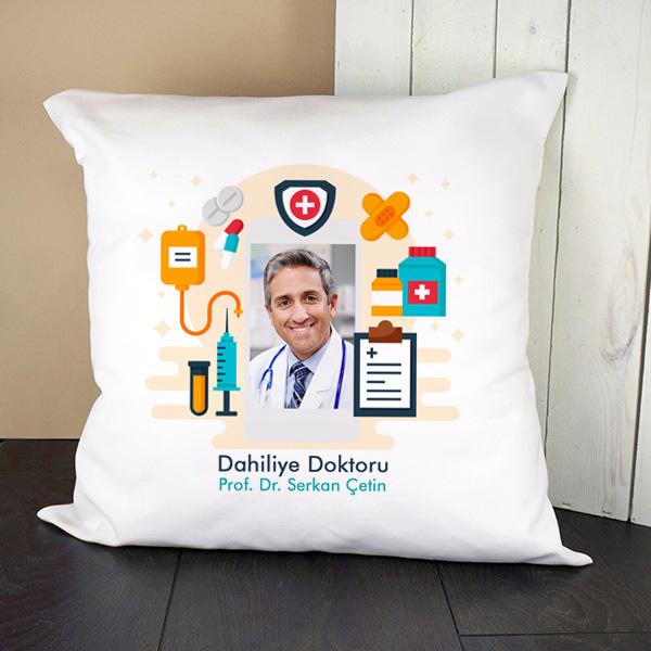 Doktorlara Özel Resimli Yastık