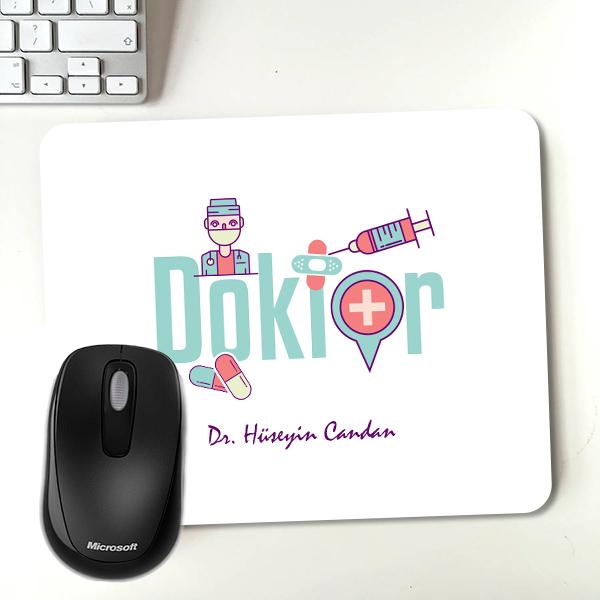 Doktorunuza Özel Hediyelik Mousepad