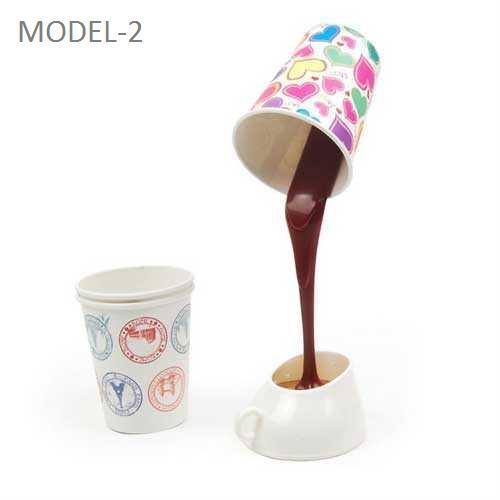 DIY Cup & Light - Dökülen Kahve Görünümlü Masa Lambası