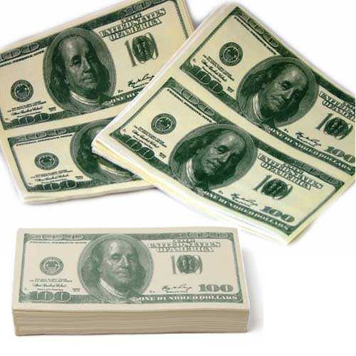 Dollar Napkin - Dolar Peçete