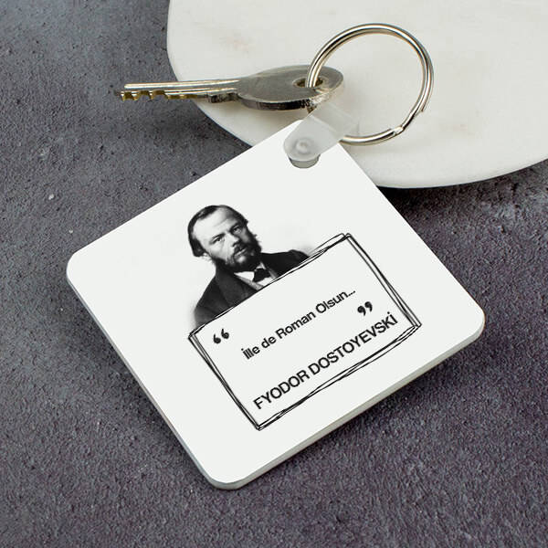 Dostoyevski Esprili Anahtarlık