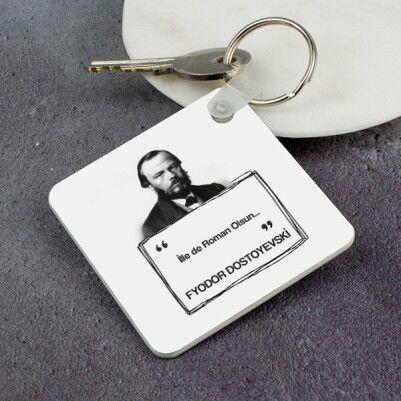 - Dostoyevski Esprili Anahtarlık