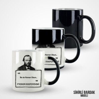 Dostoyevski Kupa Bardak - Thumbnail