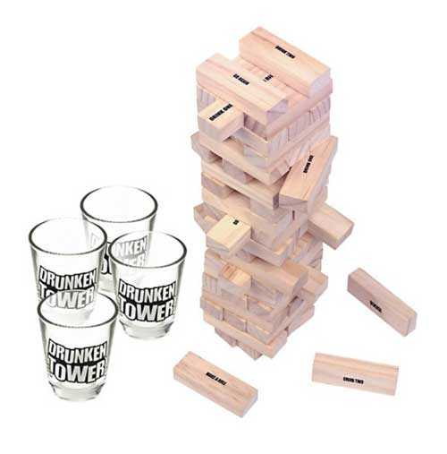 Drunken Tower - Shot Denge Oyunu