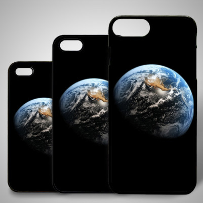 - Dünya Temalı iPhone Telefon Kapağı
