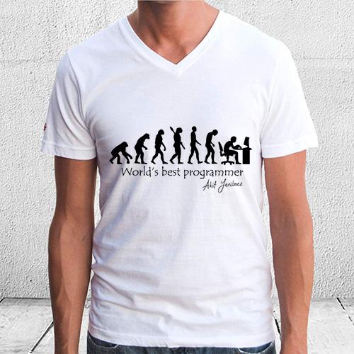 Dünyanın En İyi Programcısı Tişört