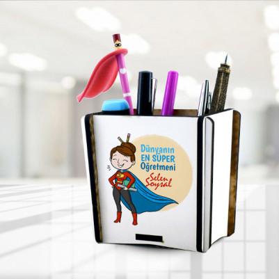 - Dünyanın En Süper Öğretmeni Kalemlik