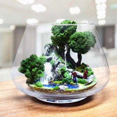 - Düşler Bahçesi - Teraryum Minyatür Bahçe